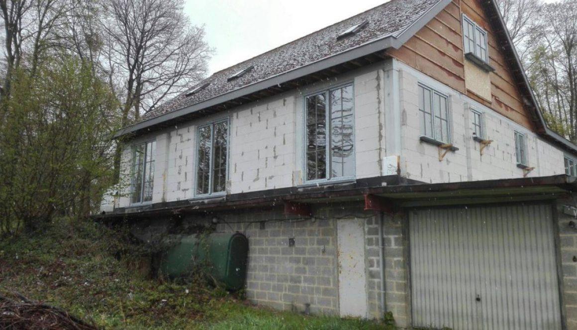 Chassis PVC - Namur, Gris Basalte, croisillons, double vitrage anti effraction