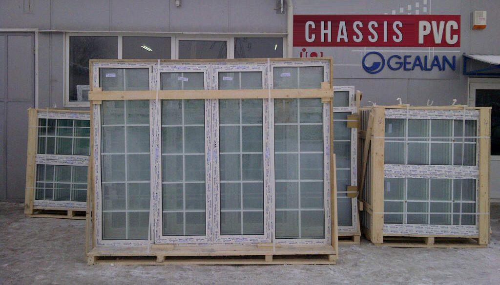 Fabricant Châssis PVC Gealan prix usine