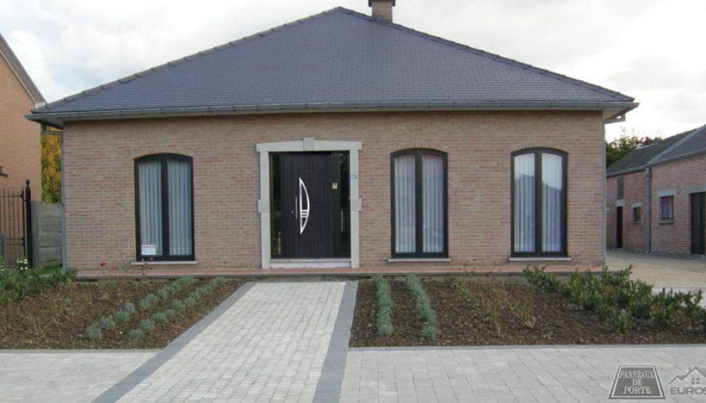 Porte d'entree PVC Maison