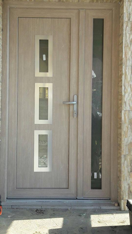 Porte PVC avec Panneau decoratif Belgique 2