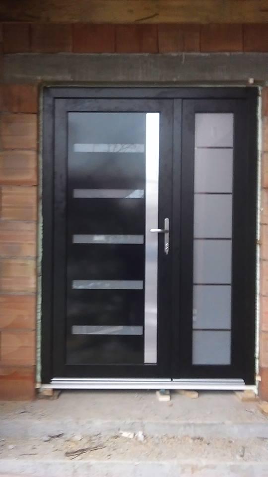 Porte PVC avec Panneau decoratif Belgique 4