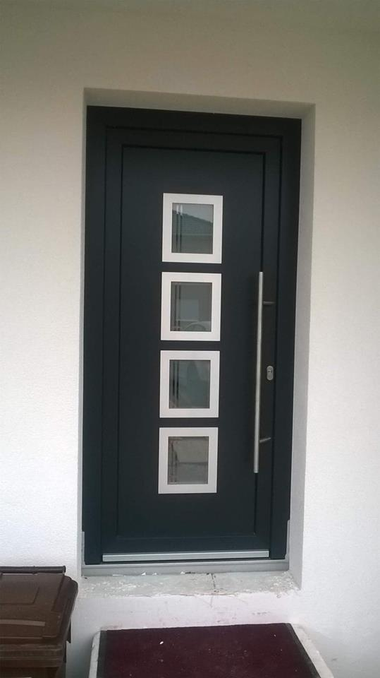Porte PVC avec Panneau decoratif Belgique 5